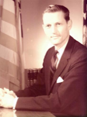 Former Director Dr. Curtis W. Tarr