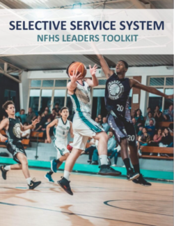 NFHS Toolkit cover, basketball players playing a game