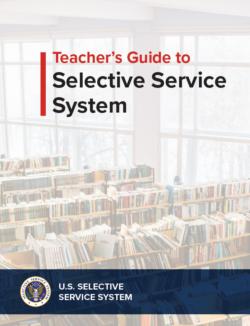 Selective service system teacher's guide